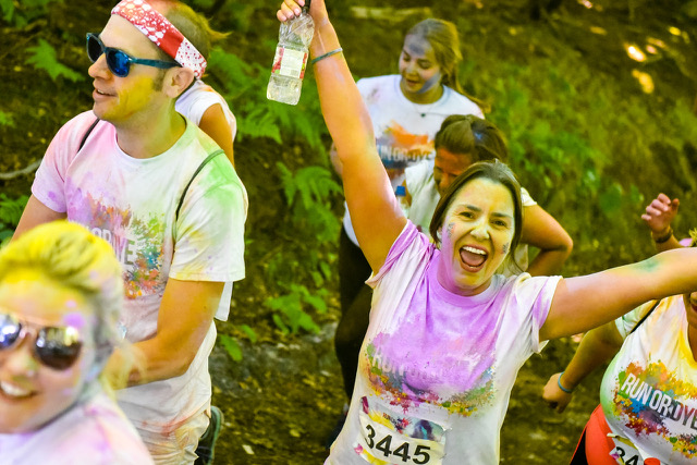 Run or Dye returns to inspire fitness for all generations at Penshurst Place