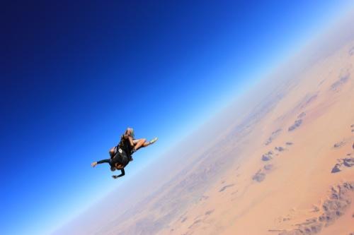 Skydive Wadi Rum