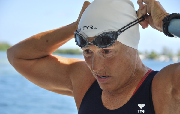 Never give up: the courage of swimmer Diana Nyad
