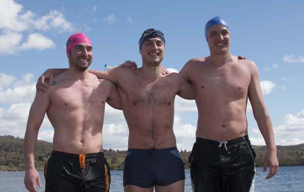 Swim the Eden: three brothers and their 90-mile swim for The Swimming Trust