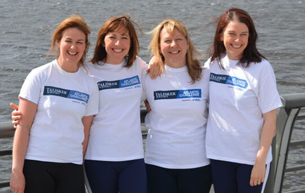 Yorkshire Rows: four women with one world record in their sights