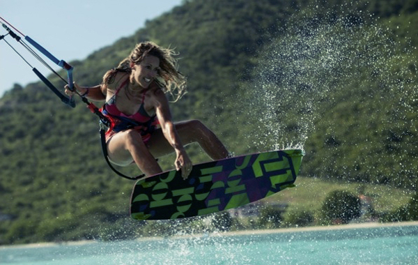 Kirsty Jones: Britain's champion kitesurfer
