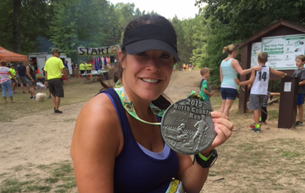 Michelle Savage: running marathons and inspiring moms around the world