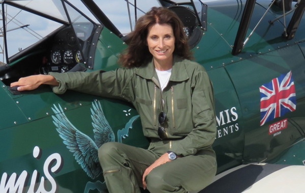 Tracey Curtis-Taylor: flying solo from GB to Australia
