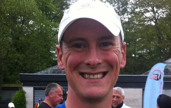 Darren Wilson: on track to run the Marathon des Sables