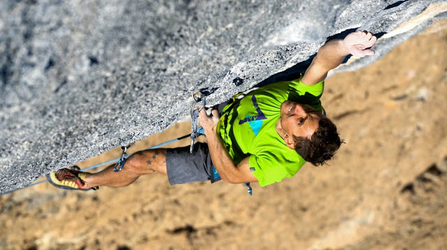 Jonathan Siegrist: in search of the next climbing challenge