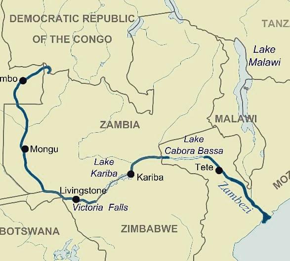Chaz Powell: walking the Zambezi river — Limitless Pursuits